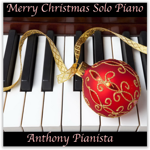 Merry Christmas Solo Piano Album Cover
