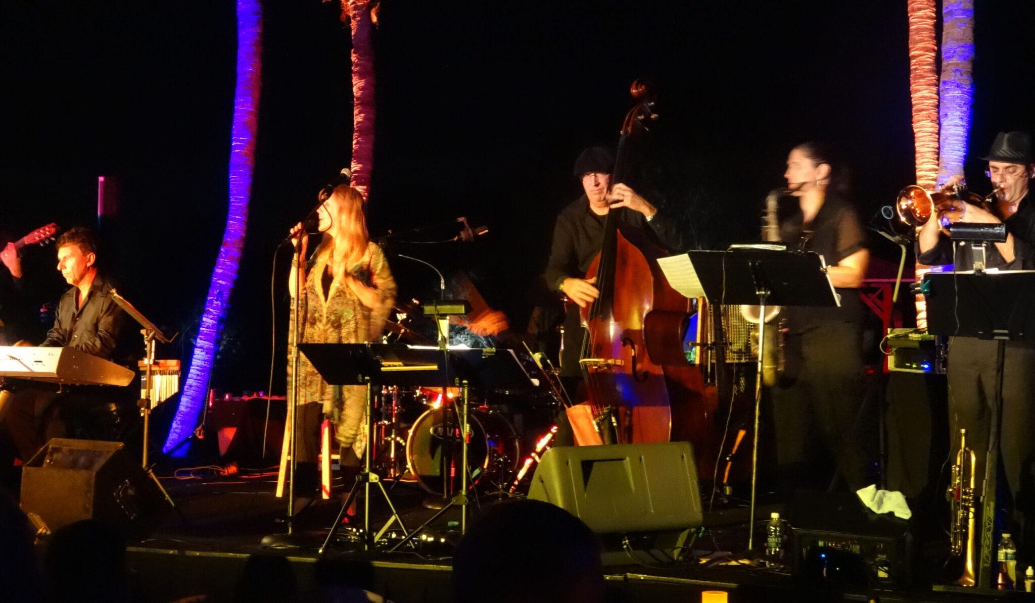 Musical Band Performing At
