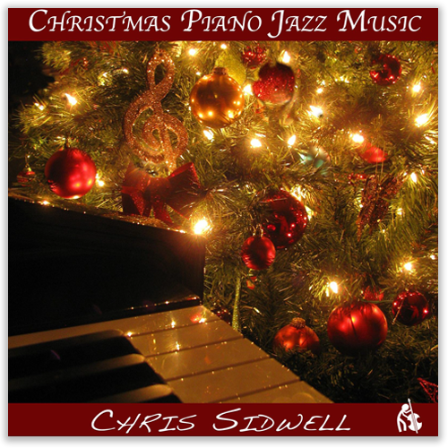 Christmas Piano Jazz Music Album Cover