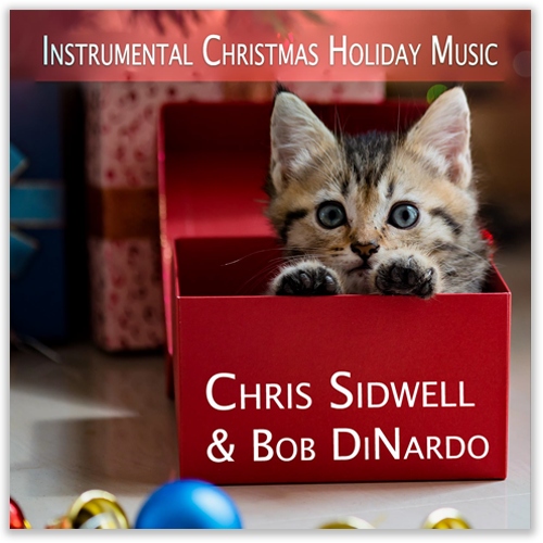 Instrumental Christmas Holiday Music Album Cover